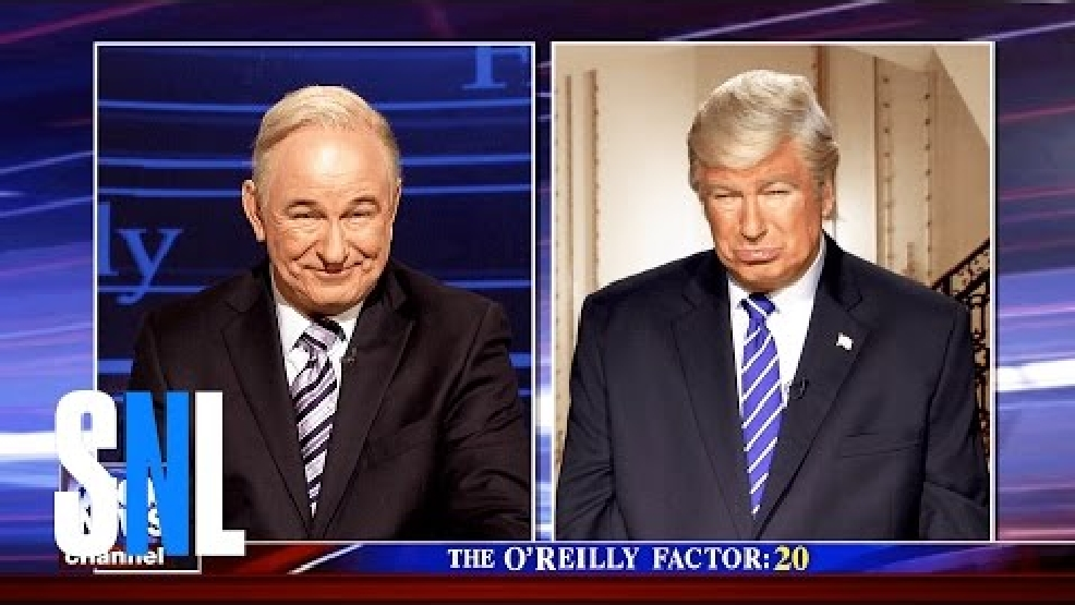 Alec Baldwin debuted a Bill O'Reilly impersonation. Fans said it may top his iconic Trump.