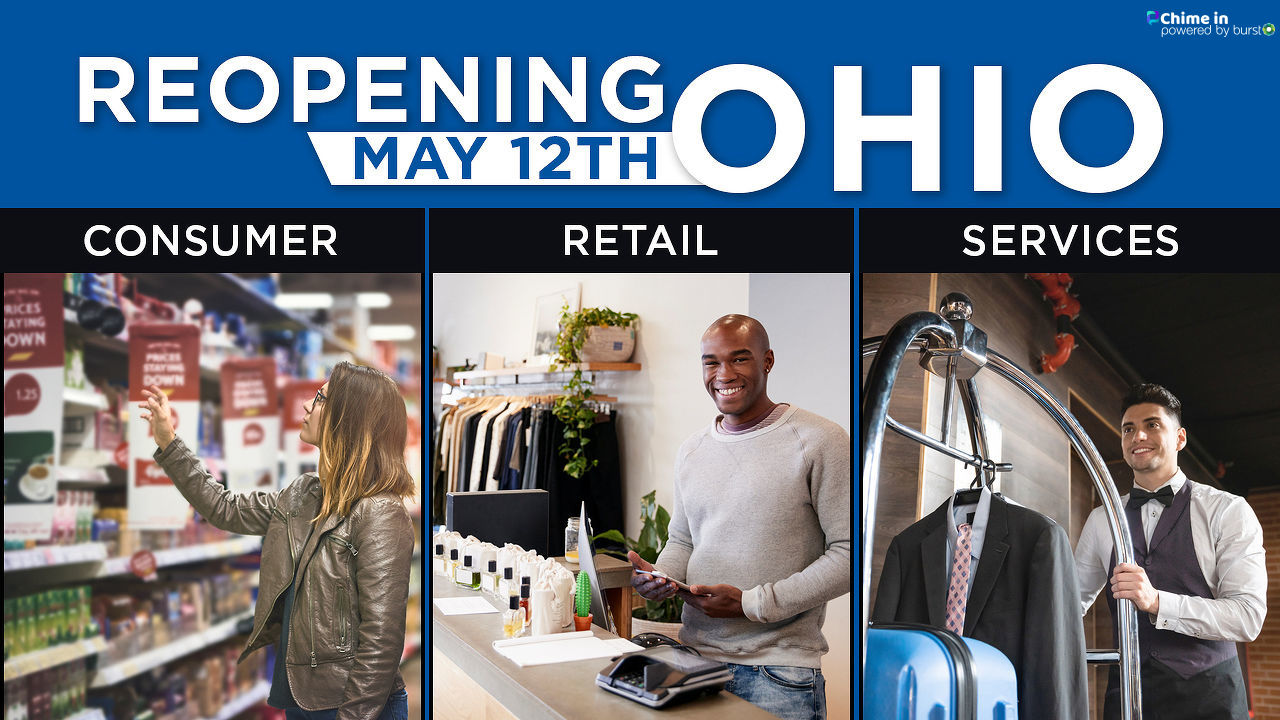 FILE - Retail stores across Ohio welcomed back customers in May 2020 while implementing new safety protocols. (WSYX/WTTE)