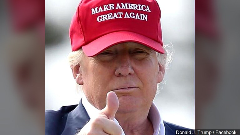 President Trump, Make America Great Again. (Photo: MGN)