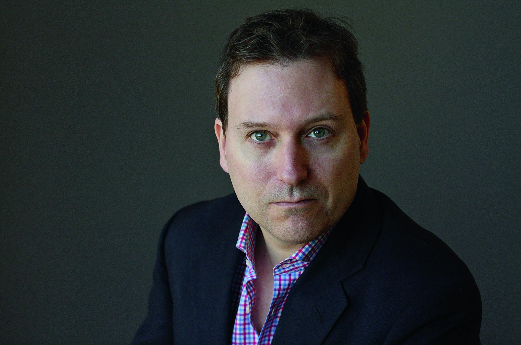 "John Carreyrou, author of ""Bad Blood: Secrets and Lies in a Silicon Valley Startup"" (Image: Michael Lionstar)"