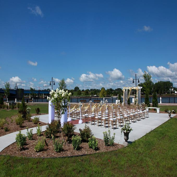"""We are able to offer unique locations for all of your wedding plans and events.  Plus, we can also accommodate overnight stay guest room packages to help simplify your planning even further,"" says Tricia Coonan, Wedding Sales Manager at the DoubleTree by Hilton Bay City – Riverfront. (Photo courtesy of DoubleTree by Hilton Bay City – Riverfront)"