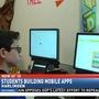 HCISD students build mobile apps in computer science program