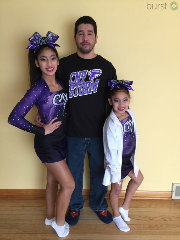 """Daddy's Little Girls"": Father's Day photo submitted by Rosario Anamaria"