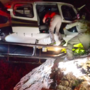 Video shows state helicopter rescuing injured climber in the middle of the night