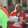 Health care workers protest at MUSC, accuse board of 'smoke and mirrors shell game'