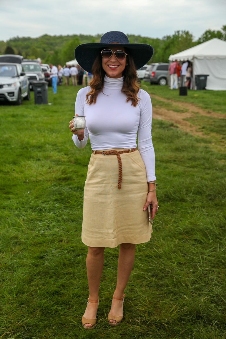 At Gold Cup:{ }This look is so classy, it would look just as great off the field. (Amanda Andrade-Rhoades/DC Refined)