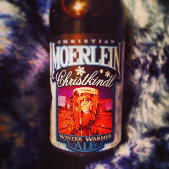 CHRISTKINDL by Christian Moerlein Brewing Co. / This dark beer will fill you up in the winter. Caramel sweetness up front gives way to a slightly spicy note on the finish. // Image: IG user @cwt82 // Published: 1.10.17