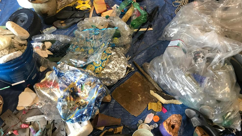 Drugs Shotgun Shells And Tons Of Plastic Litter