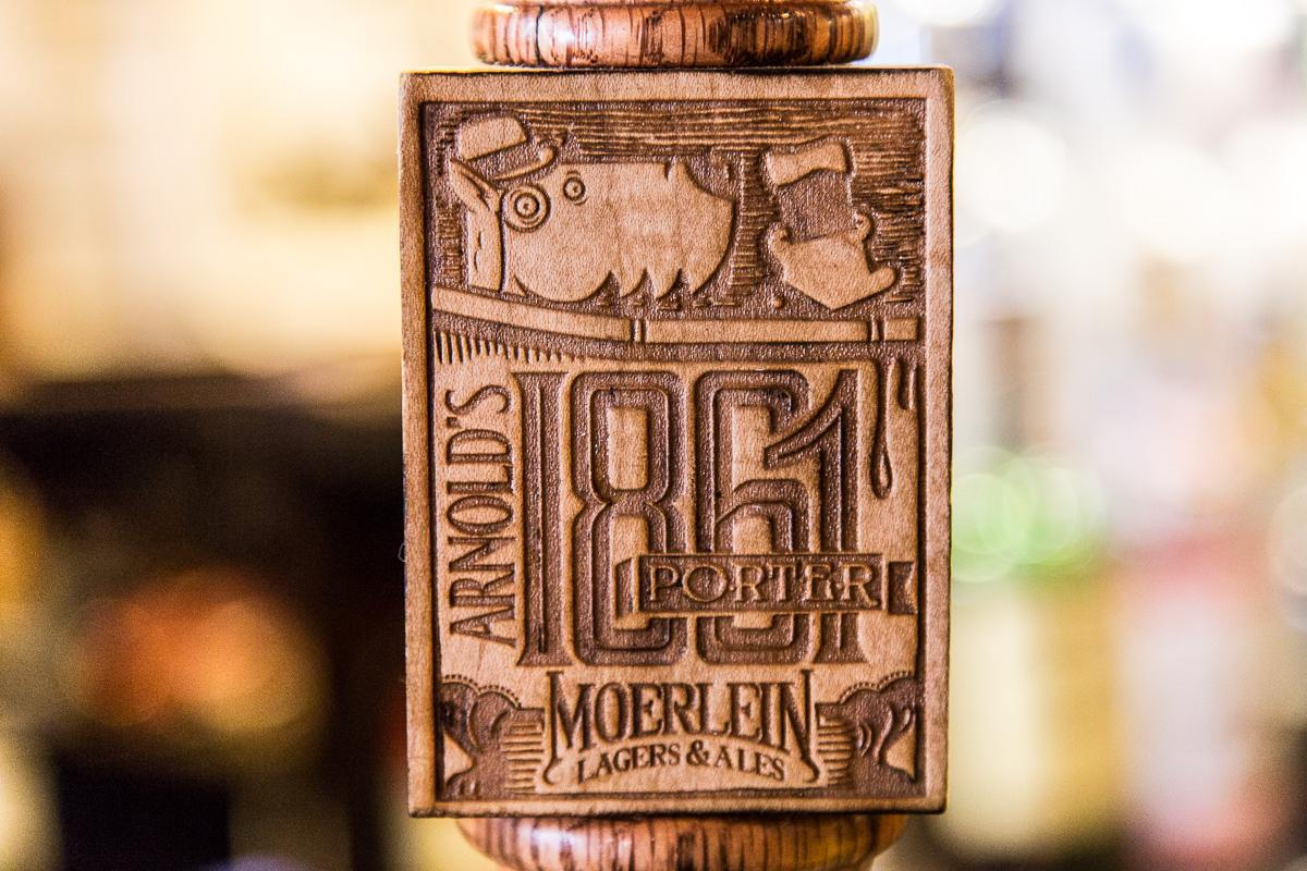 Arnold's 1861 Porter. Go grab a pint.  --  Image: Daniel Smyth Photography