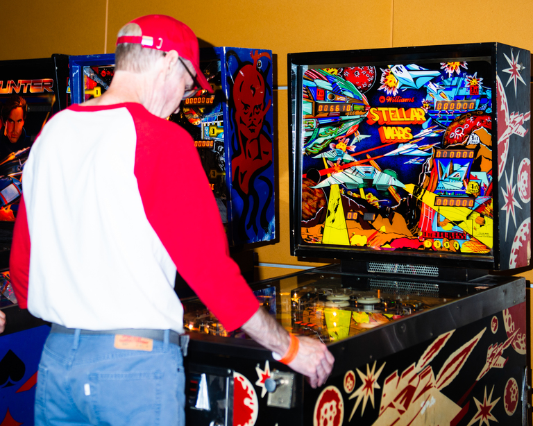 The fifth floor of the Tacoma Convention Center played host to over 400 pinball and arcade games over the weekend as part of the annual{&amp;nbsp;}<a  href=&quot;http://nwpinballshow.com/&quot; target=&quot;_blank&quot; title=&quot;http://nwpinballshow.com/&quot;>Northwest Pinball and Arcade Show</a>. From tabletop Ms. Pacman and Donkey Kong to Metallica pinball and Burger Time, the expo was a gaming fever dream that{&amp;nbsp;} offered a staggering variety of free-play options to chose from. Click on for flashy photos of all the flip flipping and the ding dinging. (Image: Chona Kasinger / Seattle Refined)
