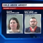 Police: Foster parents in custody after boys found tied to bed in dark room, denied water
