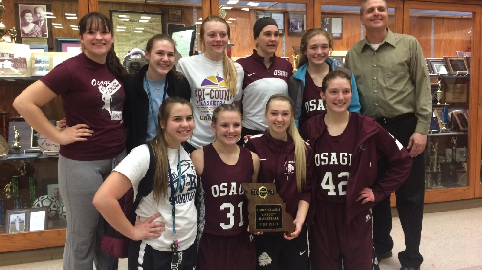 Osage lady indians named team of the week krcg for Asia cuisine osage beach mo