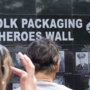 Biddeford company unveils 'heroes wall'