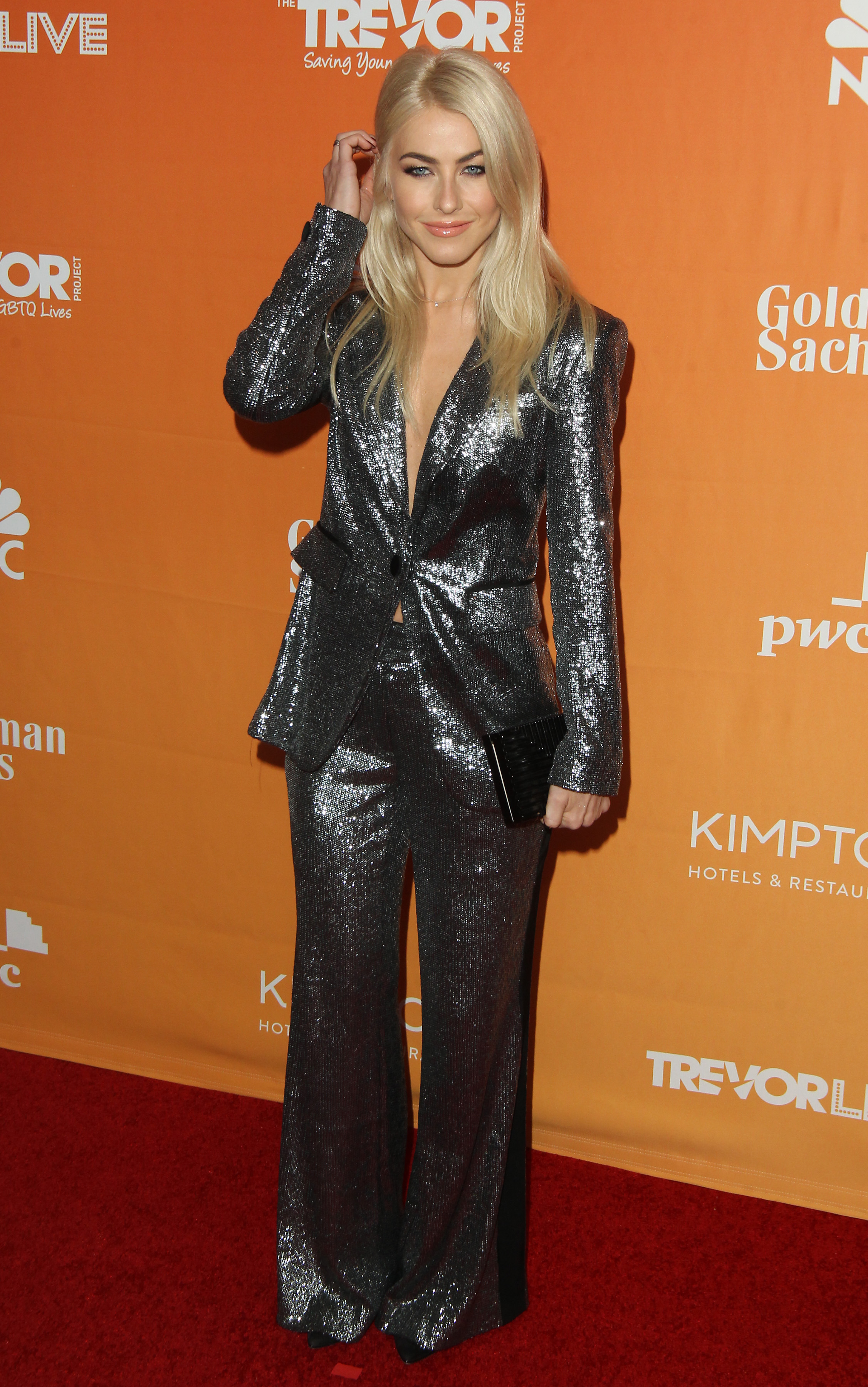 TrevorLIVE L.A. held at The Beverly Hilton Hotel in Beverly Hills, California.                                    Featuring: Julianne Hough                  Where: Los Angeles, California, United States                  When: 03 Dec 2017                  Credit: Adriana M. Barraza/WENN.com