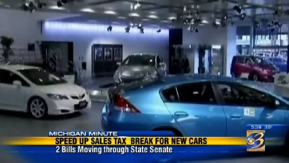Planned S Tax Break For Vehicle Purchase May Be Sped Up