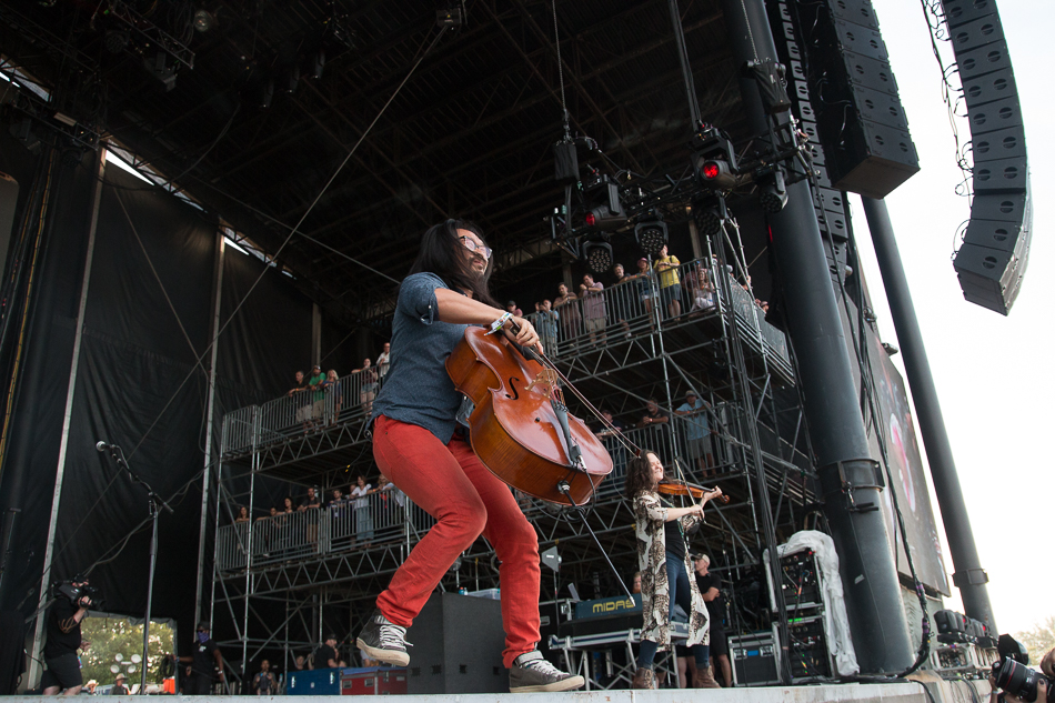 The sun was out and so were the Bonnaroans today. The Avett Brothers and Courtney Barnett{ }both put on great shows. Staff Photo By Nathan P. Gayle
