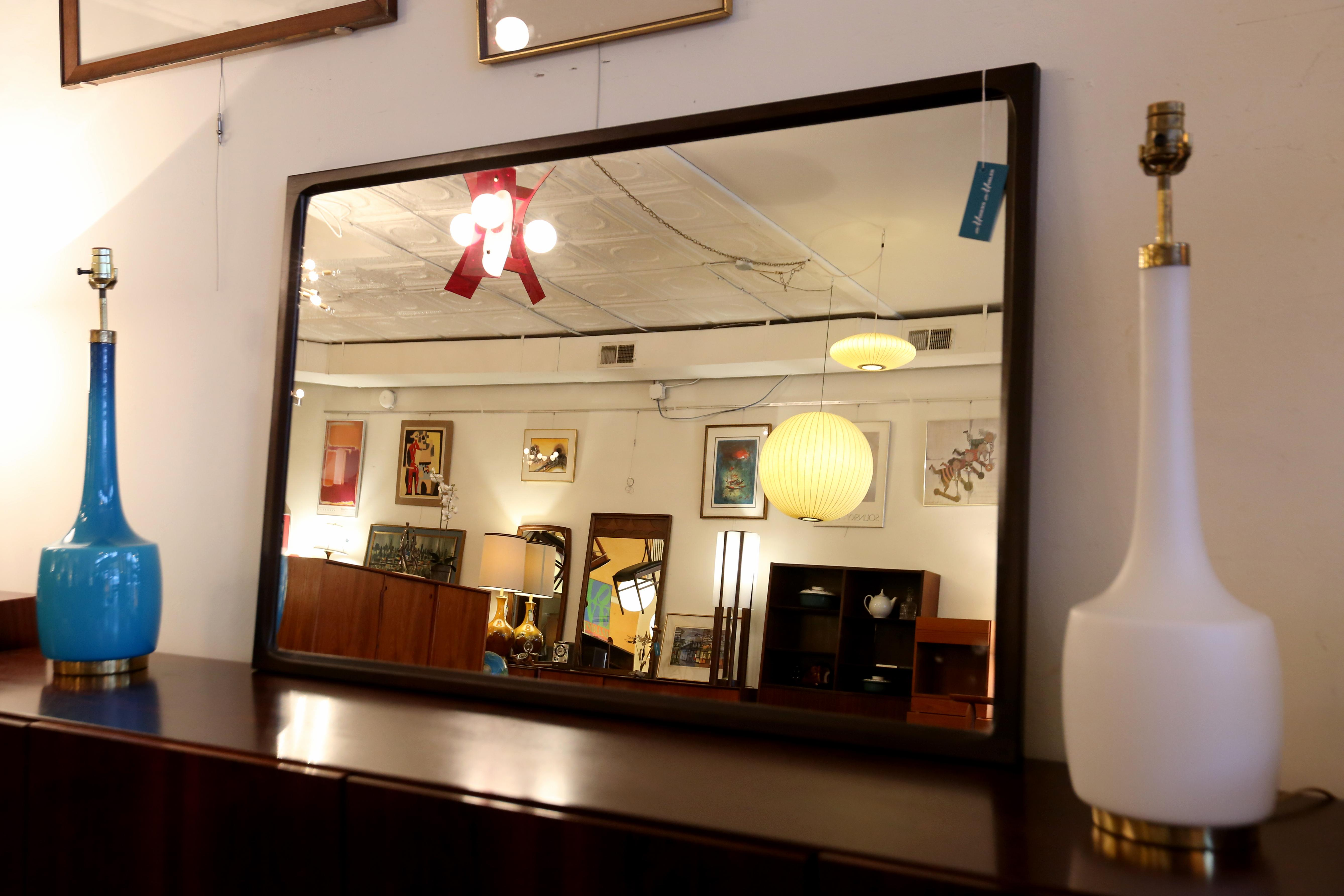 Rosewood mirror - $945, available at Modern Mobler. (Amanda Andrade-Rhoades/DC Refined)