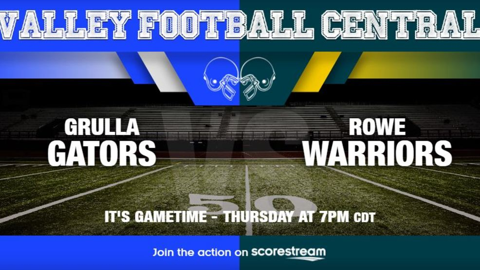 Watch Live: La Grulla Gators at McAllen Rowe Warriors