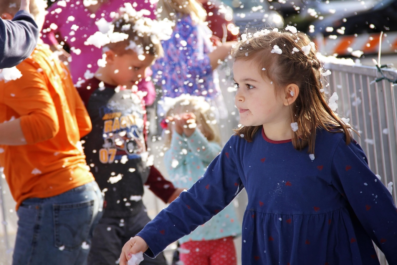FILE - After a successful debut last year, holiday skating returns to downtown Hendersonville on Tuesday, Dec. 19, and continues through New Year's Day. (Photo credit: WLOS Staff)