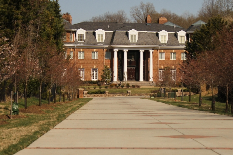 In 2013, CNN Money deemed Potomac, Maryland, the most affluent town in the United States. River Road, a main thoroughfare in the town less than 50,000 people call home, is lined by mansions peeking out of tall trees. (Amanda Andrade-Rhoades/DC Refined)