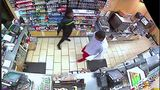 Clerk stabs robber in early morning holdup at 7-Eleven