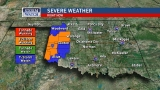 Western Oklahoma tornado warning expires, severe weather threat still exists