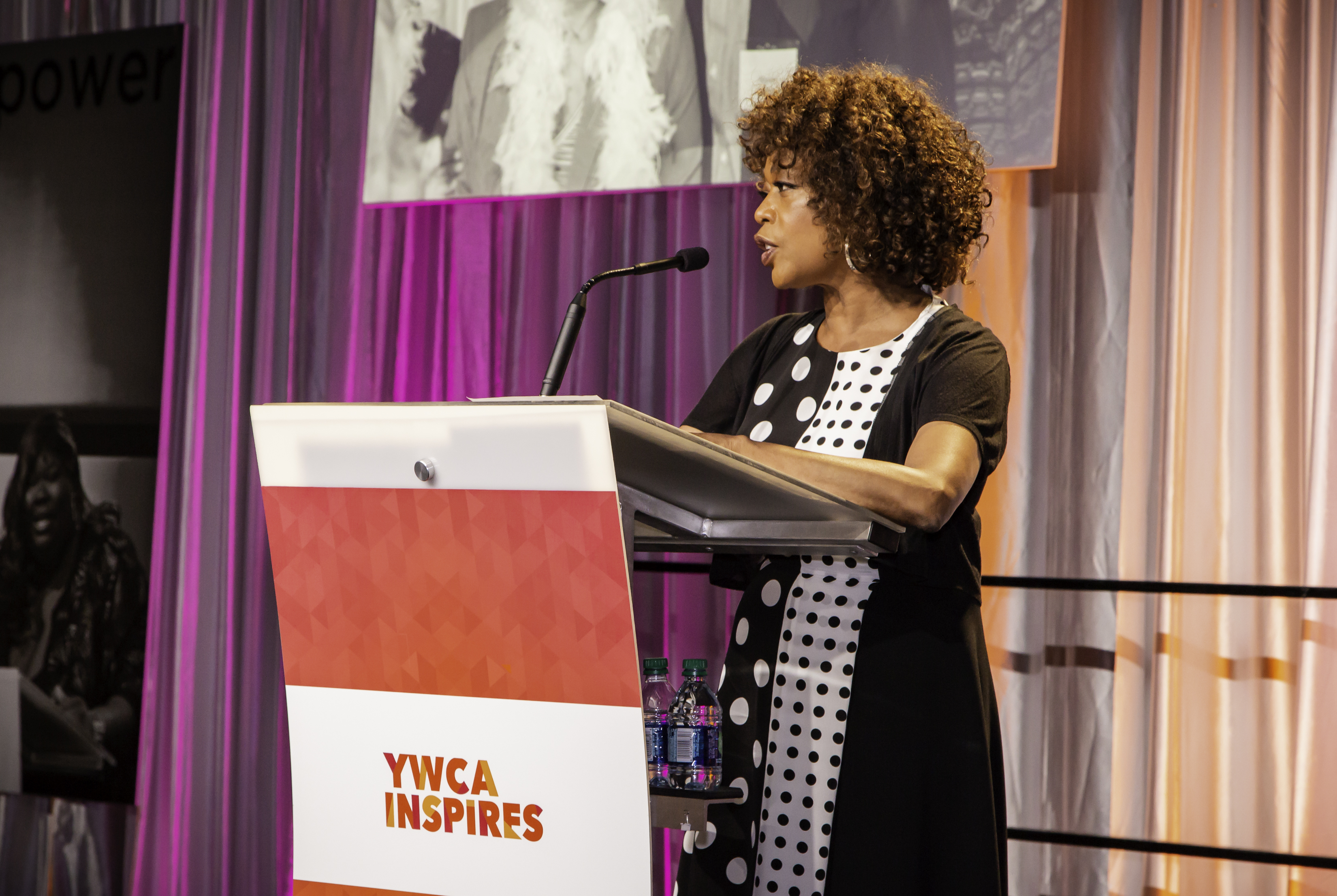 Actress and activist Alfre Woodard brought her star power to Seattle as the keynote speaker for the YWCA Inspire Luncheon. Photo courtesy of YWCA.<p></p>