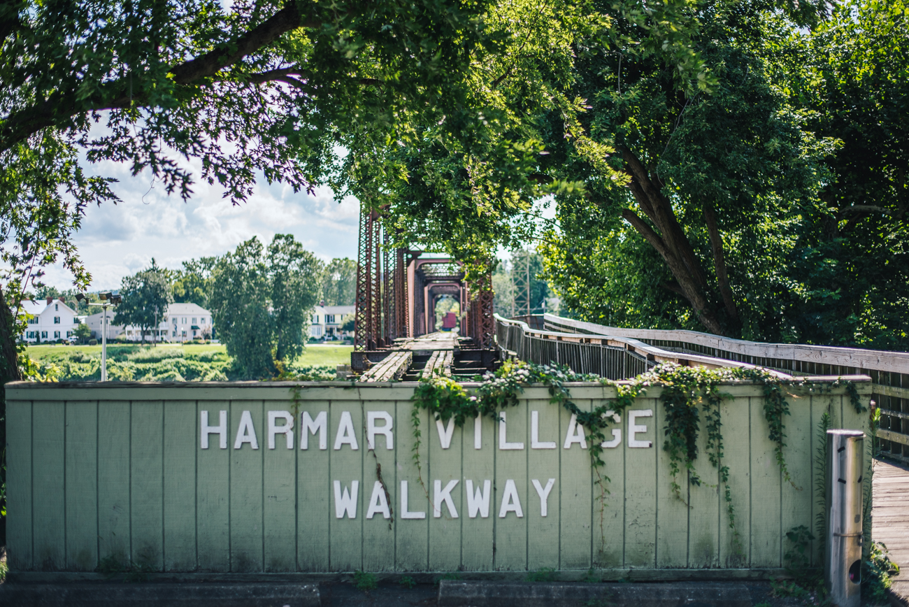 PICTURED: Harmar Village Walkway / Image: Mike Menke // Published: 8.23.17