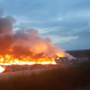 Major fire raging at Pittsylvania County landfill