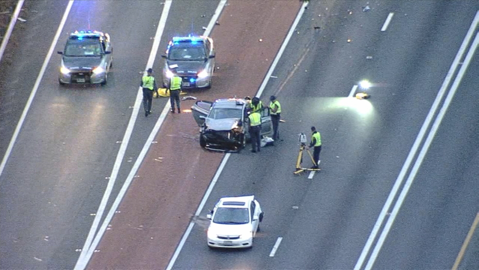 1 dead in 2-car crash that shutdown part of I-66 in Fairfax County ...
