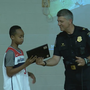 5th grader receives heroism award for saving kindergartner from getting hit by a car