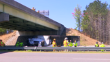 Police: Pamplin man killed after tractor-trailer plunges off overpass