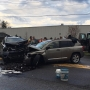Elkhart crash sends four to hospital