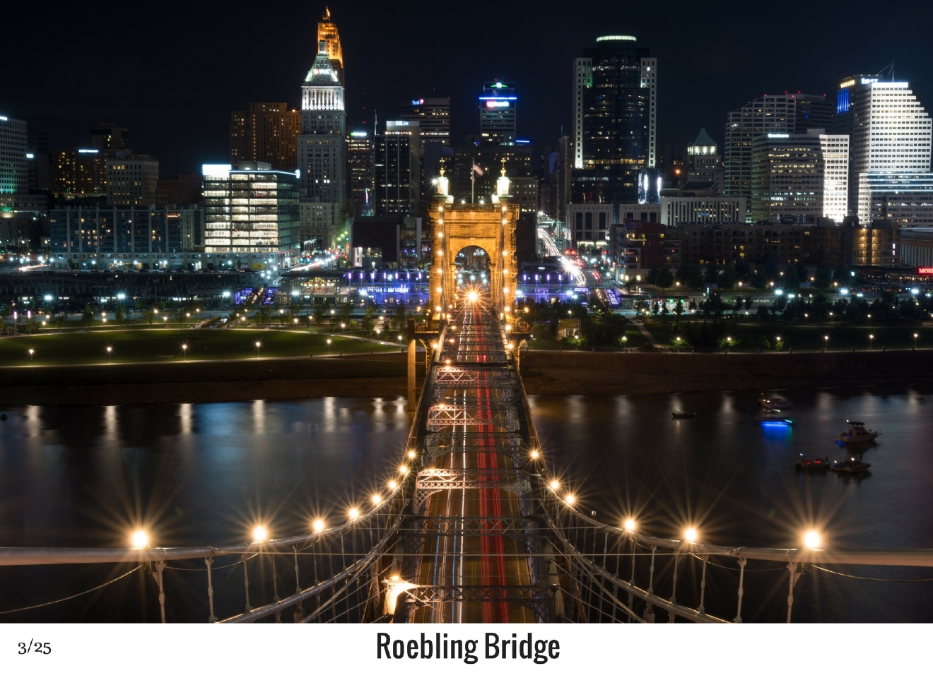 WHAT: Top of the Roebling / WHERE: Spanning the Ohio River / Image: Phil Armstrong, Cincinnati Refined / Published: 10.27.16