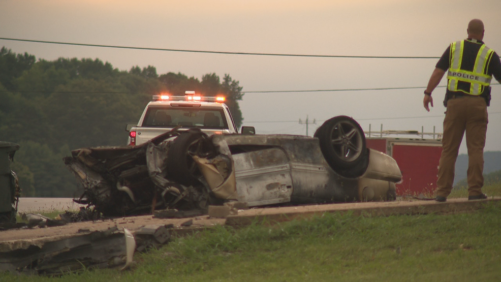Man dead after fiery crash onHighway 58 Wednesday morning | WTVC