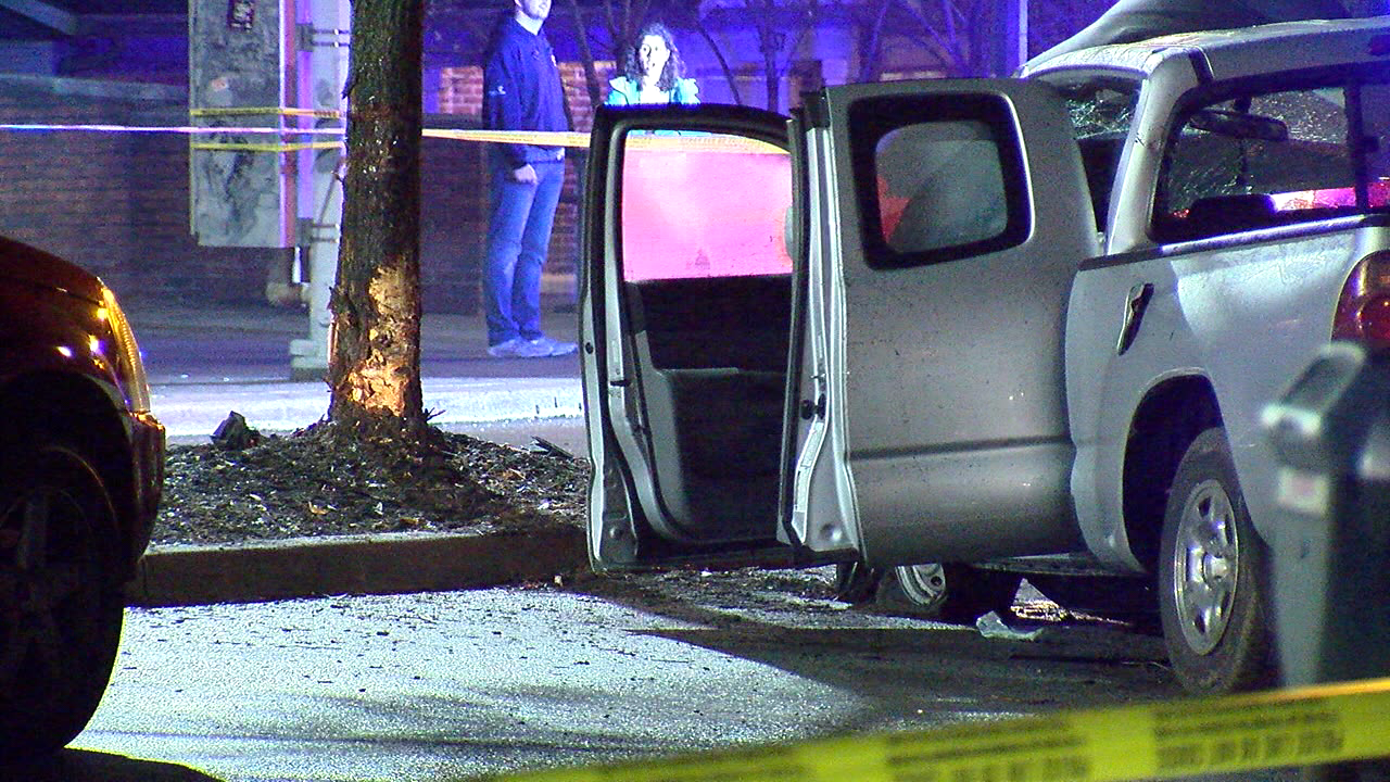 A 42-year-old man is dead after his truck struck a tree in Clifton Heights late Wednesday night (WKRC)