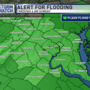 Ongoing flood threat for DMV