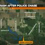 Elkhart County police chase ends in Cass County crash