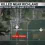 Richland crash claims life