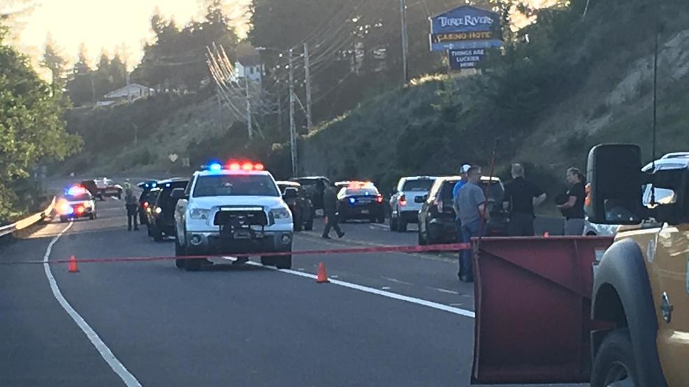 Police activity near Florence, Oregon<p></p>