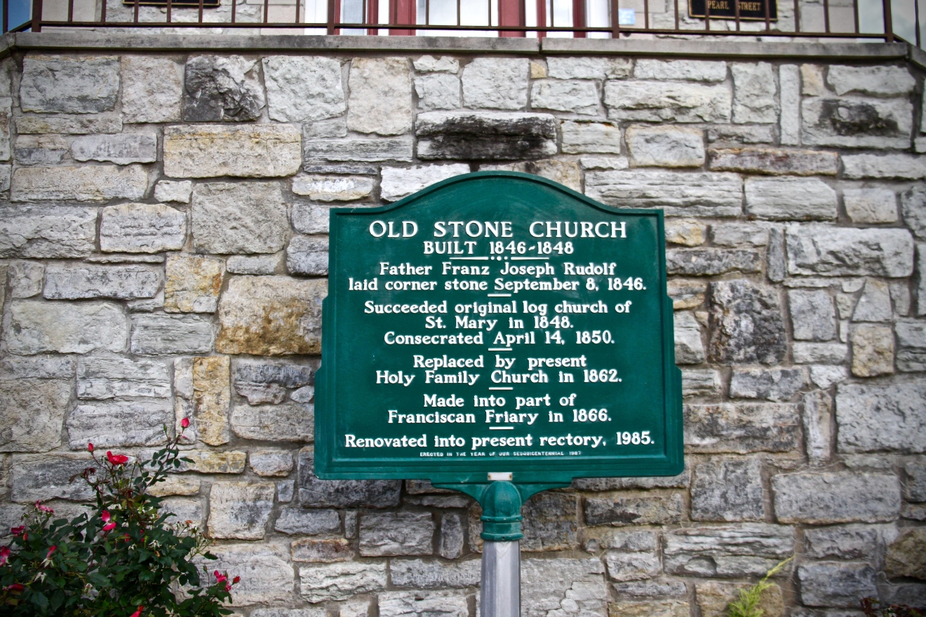 "Merely an hour west of Cincinnati and named after a town in Germany, Oldenburg (Indiana) was founded in 1837 by German immigrants and is known as the ""Village of Spires"" due to its high density of churches and religious centers. It is generally regarded as one of the most authentically German towns left in the Midwest. / Image: Christi Scott / Published: 11.4.16"