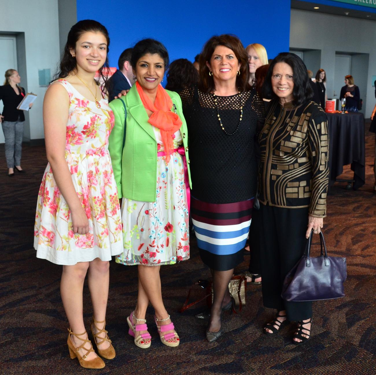 Josi Sammarco, Dr. Lakshmi Sammarco, Kelly Dehan, and Judy Sharp / Image: Leah Zipperstein, Cincinnati Refined // Published: 5.10.18