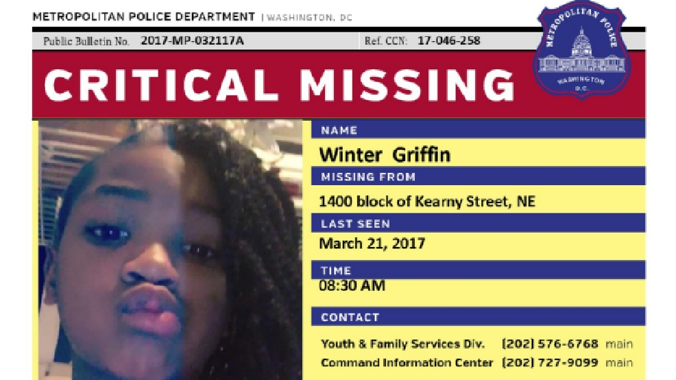 Police searching for critically missing 10-year-old girl in D.C. ...