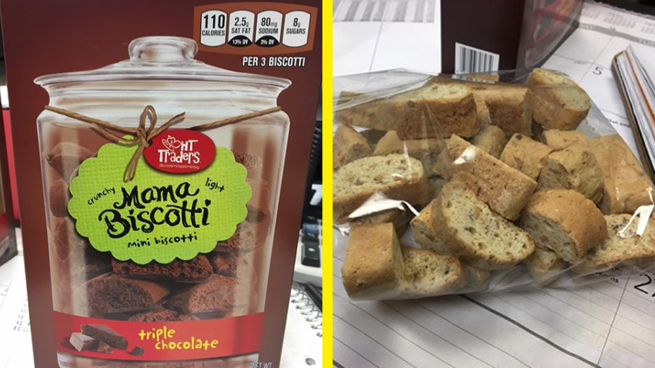 Cookies sold at Harris Teeter recalled for nut allergy fears. (FDA)