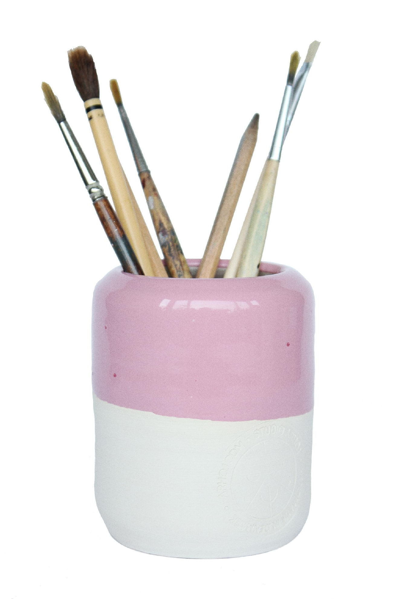 Studio Arhoj Pen Holder, Pink - $42. Buy at shop.nordstrom.com/c/pop-in-olivia-kim (Image: Nordstrom)