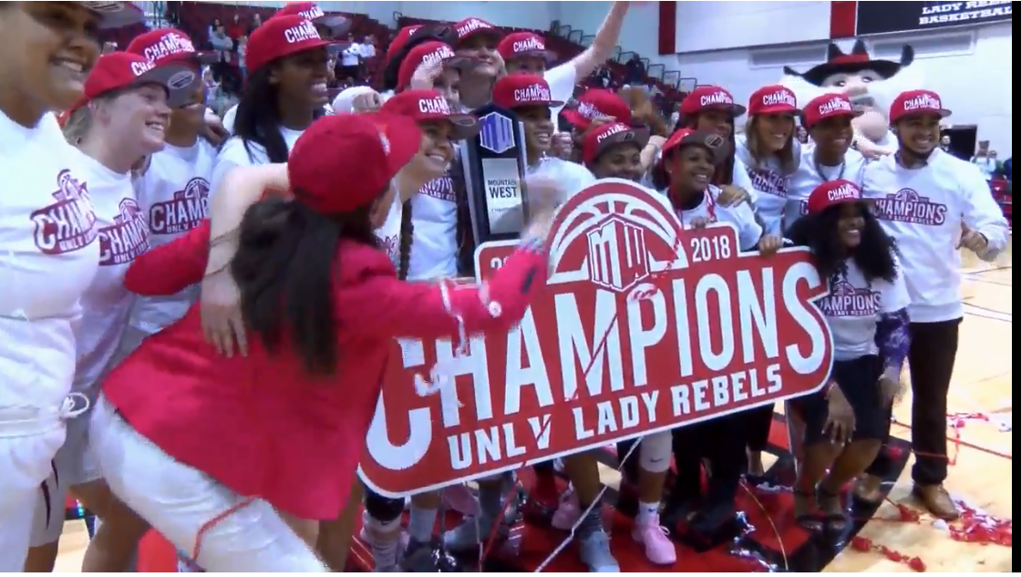 Full Sportscast: Lady Rebels win Conference Title, Kyle wins trucks