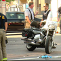Police: Man taken to hospital following car and motorcycle crash