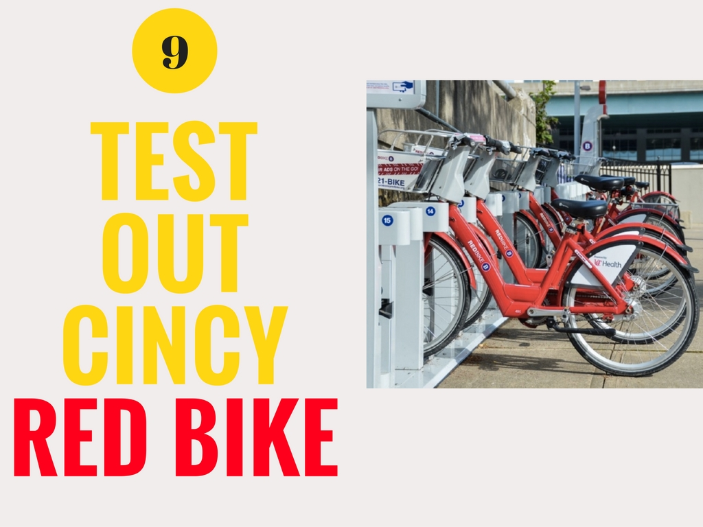 CINCY SUMMER BUCKET LIST ITEM #9: Test out Cincy Red Bike / IMAGE: Sherry Lachelle Photography