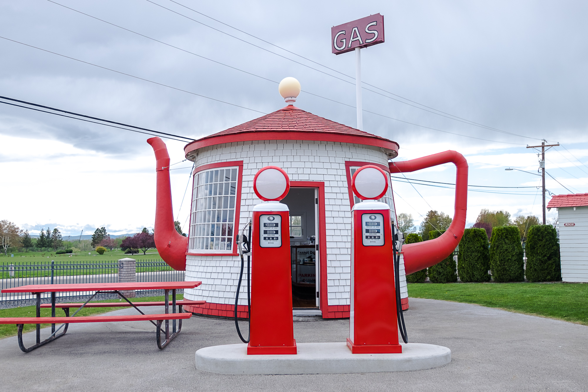 The famous Zillah Teapot (Image: Paola Thomas/Seattle Refined)
