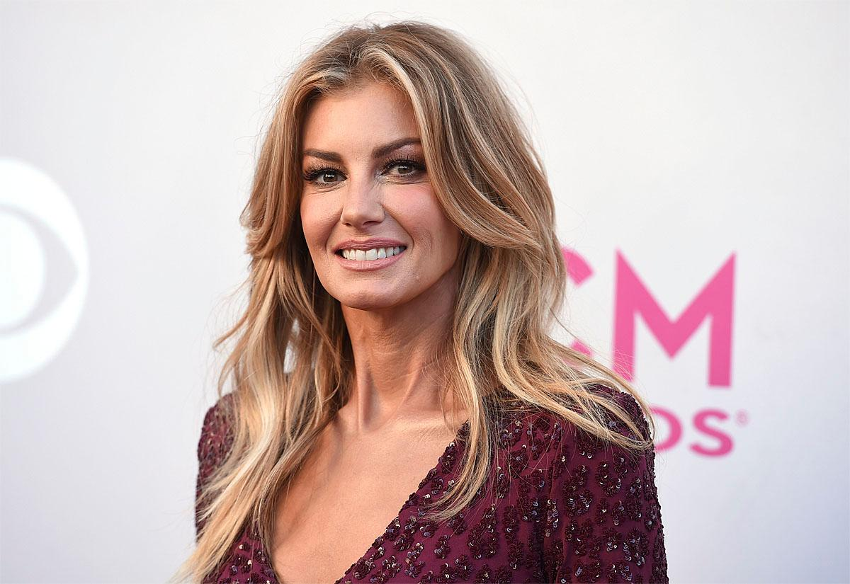Faith Hill arrives at the 52nd annual Academy of Country Music Awards at the T-Mobile Arena on Sunday, April 2, 2017, in Las Vegas. (Photo by Jordan Strauss/Invision/AP)